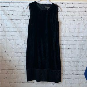 Banana Republic black sleeveless dress